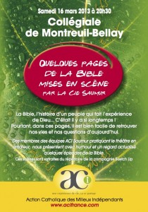 spectacle biblique